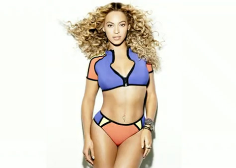 beyonce shape magazine that grape juice Watch: Beyonce Shines Bright For Shape Magazine