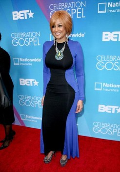 dorindaclarkcole Hot Shots:  Tamar Braxton Amongst Stars Shining on BETs Celebration of Gospel Red Carpet (2013)