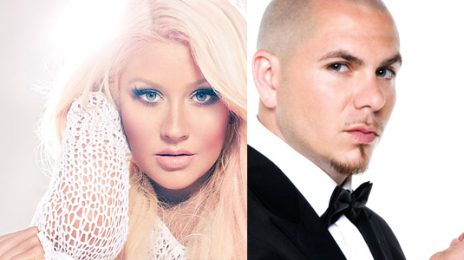 Watch:  Pitbull & Christina Aguilera Open Kids Choice Awards With 'Feel This Moment' Live
