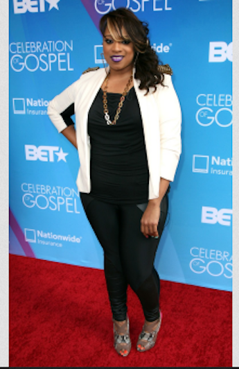 kierrasheard Hot Shots:  Tamar Braxton Amongst Stars Shining on BETs Celebration of Gospel Red Carpet (2013)