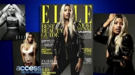 Nicki Minaj Stuns In 'Elle' Magazine
