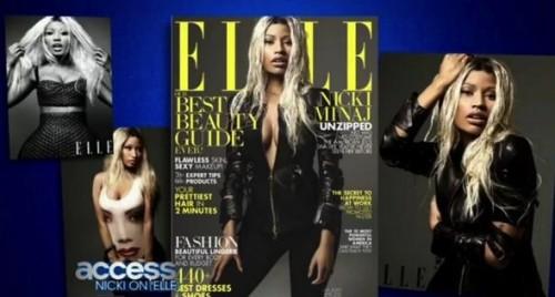 nicki minaj elle 2013 e1363221742113 Nicki Minaj Stuns In Elle Magazine