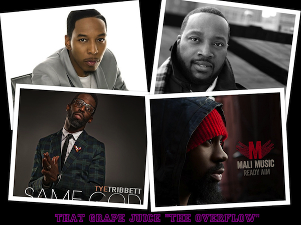 overflow The Overflow (Gospel News Round Up):  Mali Music, Tye Tribbett, Deitrick Haddon, & Marvin Sapp