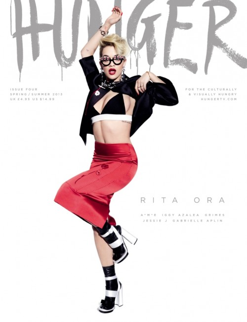 rita ora hunger 1 e1364466918755 Rita Ora Stuns For Hunger