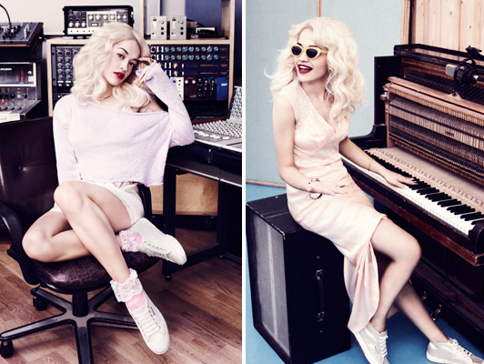 rita ora superga that grape juice Watch: Rita Ora Rocks Out For Superga