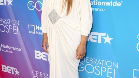 Hot Shots:  Tamar Braxton Amongst Stars Shining on BET's 'Celebration of Gospel' Red Carpet (2013)