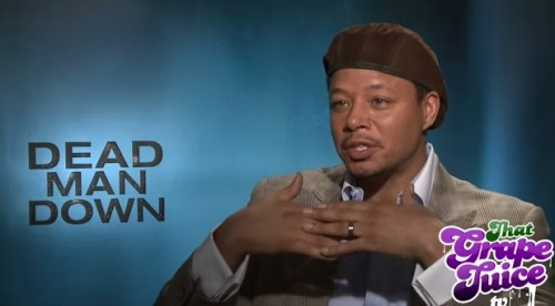 terrence howard 2013 e1362656280598 Exclusive: Terrence Howard Talks Beyonce, Rihanna, & Dead Man Down With That Grape Juice TV