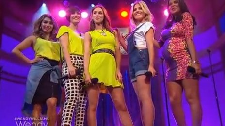 Watch: The Saturdays Perform On 'Wendy Williams'