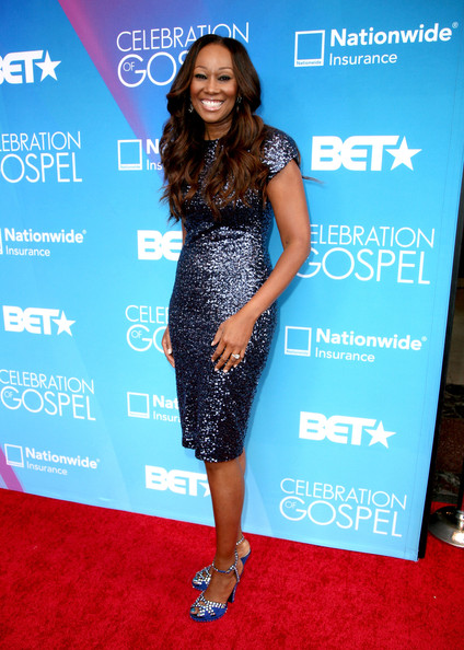 yolanda adams Hot Shots:  Tamar Braxton Amongst Stars Shining on BETs Celebration of Gospel Red Carpet (2013)