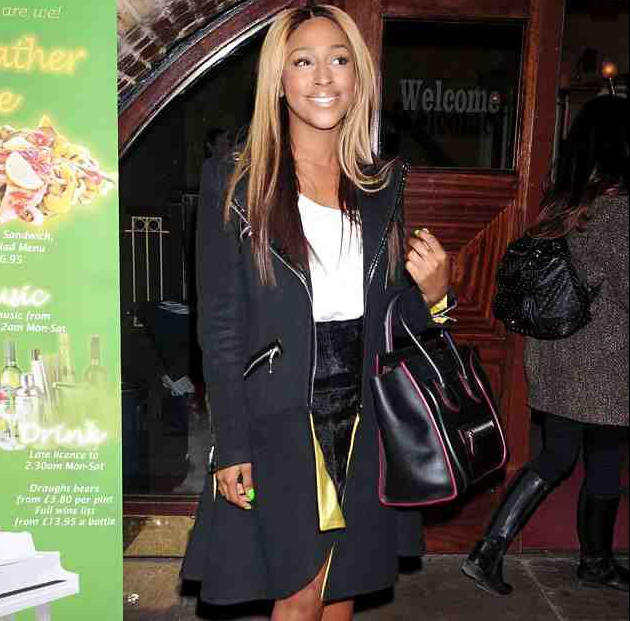 Alexandra Burke That Grape Juice Hot Shots: Alexandra Burke Hits London For The Billie Holiday Story