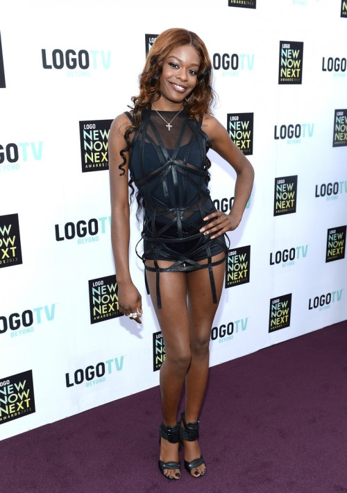 Azealia+Banks+2013+NewNowNext2 e1365970493225 NewNowNext Awards: Azealia Banks, Ciara, Ke$ha, Tamar Braxton & More Stun