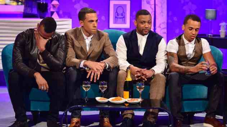 JLS Split: Oritse Williams Breaks Down During 'Alan Carr' Taping