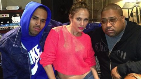 Watch:  Jennifer Lopez Shares 'Extra' Details On Chris Brown Collab, New Album