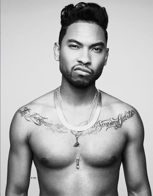 MIGUEL THAT GRAPE JUICE Miguel Styles Up For VEVO