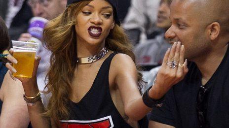 Hot Shots: Rihanna Hits Lakers Game With Jay Brown