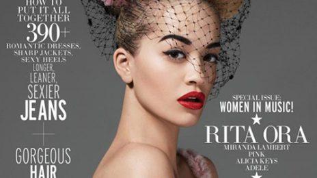 Rita Ora Covers 'Elle' Magazine