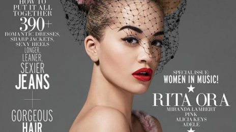 Behind The Scenes: Rita Ora Shoots For Elle 'Women In Music'