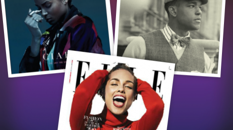 Cover Collection:  Luke James On 'SFPL', Ciara on 'Notion', and Alicia Keys On 'Elle' Magazine