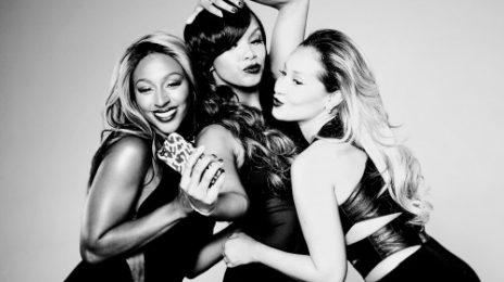 Hot Shot: Alexandra Burke, LeToya Luckett & Adrienne Bailon Beam For AJ Crimson Cosmetics