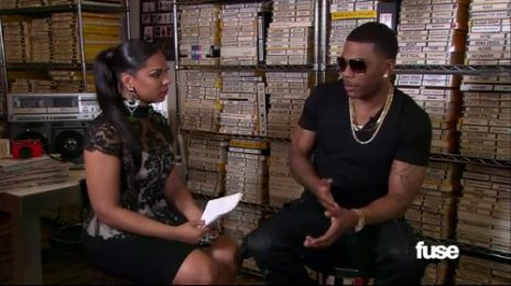 Awkward: Ashanti Interviews Nelly For 'FUSE'