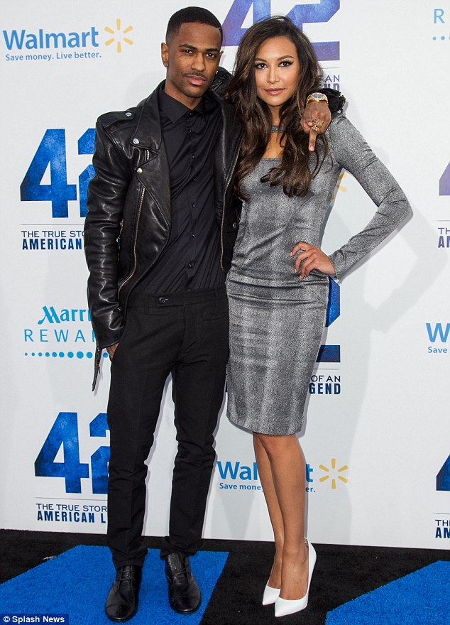 Naya Rivera And Big Sean Photoshoot