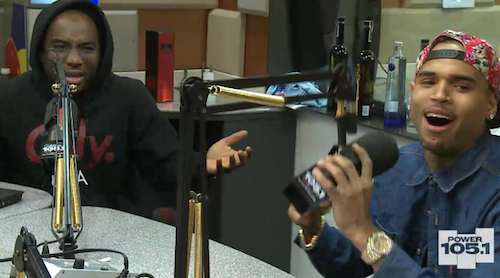 chris brown breakfast club Must See: Chris Brown Gets Grilled On The Breakfast Club