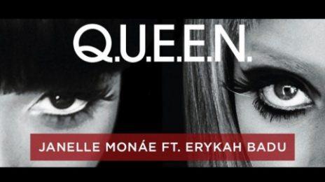 New Song: Janelle Monae - 'Q.U.E.E.N (ft. Erykah Badu)'