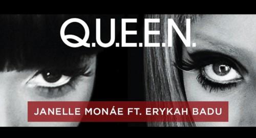 janelle monae badu queen e1366670638891 New Song: Janelle Monae   Q.U.E.E.N (ft. Erykah Badu)