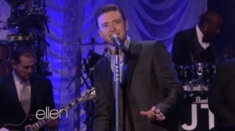 Watch: Justin Timberlake Performs 'Mirrors' On 'Ellen'