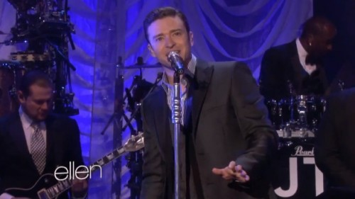 mirrors ellen justin timberlake e1366895809222 Watch: Justin Timberlake Performs Mirrors On Ellen