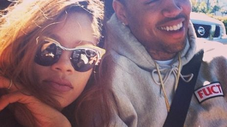 Hot Shot: Rihanna & Chris Brown Cosy Up In California / Quash Break-Up Rumors