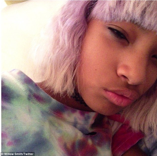 willow smith that grape juice 3 Hot Shots: Willow Smith Unveils Bold New Look