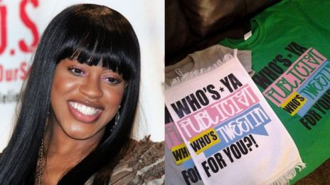 Weigh In:  Lil Mo Peddles 'Who's Ya Publicist?' T-Shirts On Twitter / Another Keyshia Cole Jab?