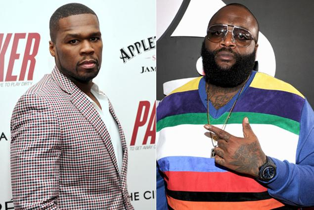50 CENT RICK ROSS THAT GRAPE JUICE 50 Cent Slams Rick Ross / Urges Rappers To Be Honest