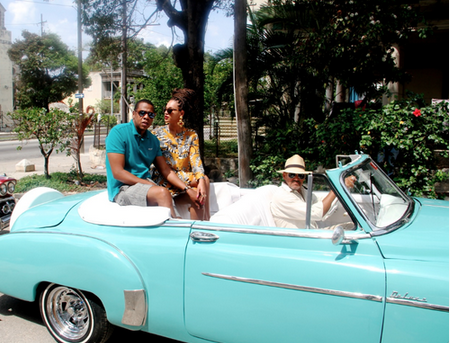 BEYONCE THAT GRAPE JUICE CUBA Hot Shots: Beyonce Shares Cuba With Beyhive