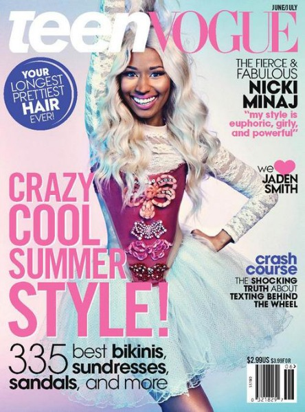 Nicki Minaj TEEN VOGUE THAT GRAPE JUICE Must See: Nicki Minaj Storms Teen Vogue / Opens Up On Traumatic Past