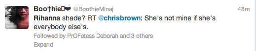 Screen Shot 2013 05 10 at 19.14.38 Hot Shot: Rihanna Returns To The Studio / Chris Brown Makes Promiscuity Jab?