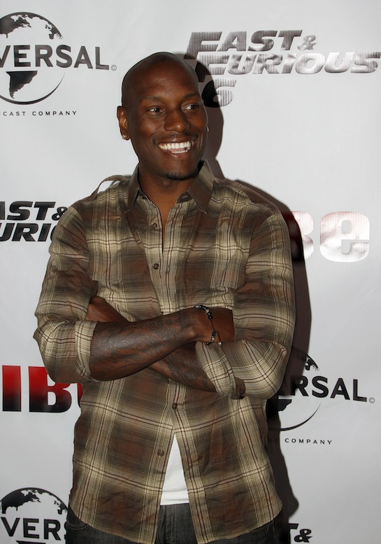 Tyrese Gibson Report:  Tyrese Confirms His Return For Fast & Furious 7