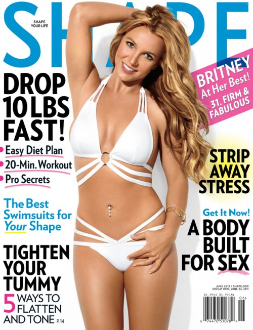 britney spears shape magazine e1368053807450 Hot Shot: Britney Spears Covers 'Shape Magazine'
