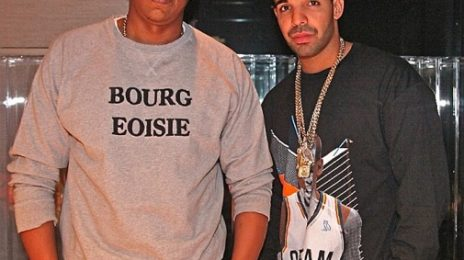 Hot Shot: Jay-Z & Drake Hit Studio Together
