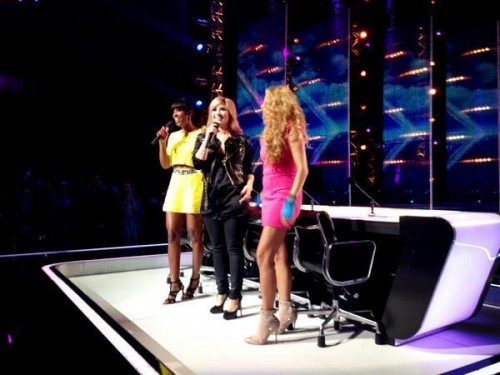 Kelly Rowland Stuns At First X Factor USA Taping