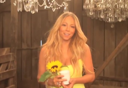 mariah beautiful miguel Behind The Scenes: Mariah Carey & Miguels #Beautiful Video