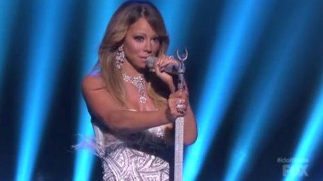Watch: Mariah Carey Performs 'Hits Medley' On American Idol