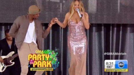 Watch: Mariah Carey Performs On 'Good Morning America' Summer Concert Series