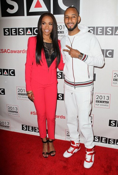 michellesesac20132 Hot Shots:  Michelle Wiliams Beams With Swizz Beatz At 2013 SESAC Pop Music Awards