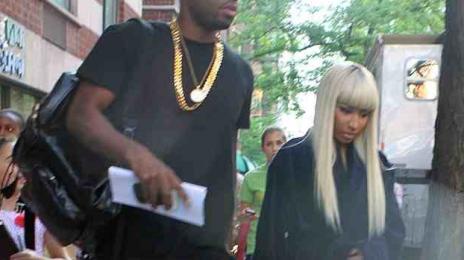 Hot Shots: Nicki Minaj And Cameron Diaz Shoot 'The Other Woman' In NYC