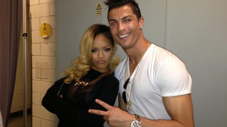 Hot Shot: Cristiano Ronaldo Joins Rihanna's 'Diamonds' Tour