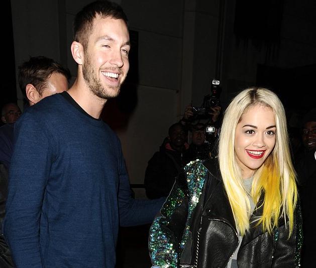 rita ora calvin harris that grape juice Hot Shots: Rita Ora Hits Hakkasan With Calvin Harris