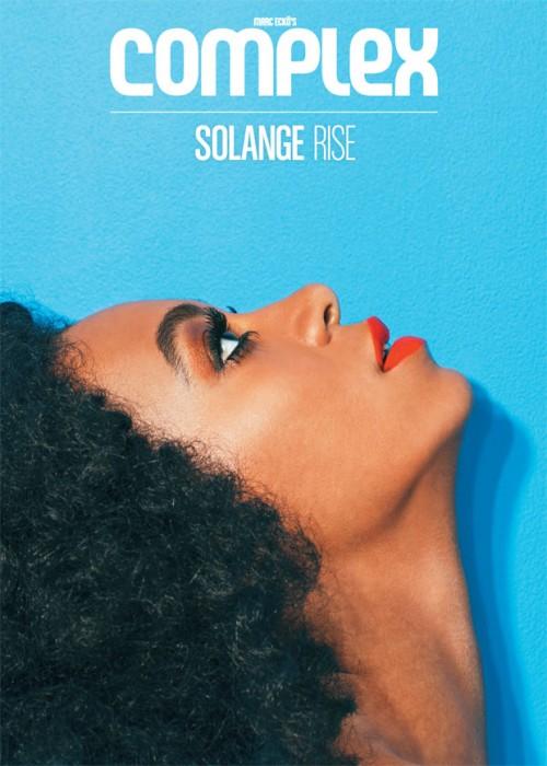 solange complex 2013 e1368545862452 Solange Sizzles In Complex Magazine