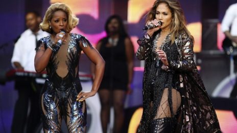 Jennifer Lopez Pairs With Mary J Blige For...Two New Songs?